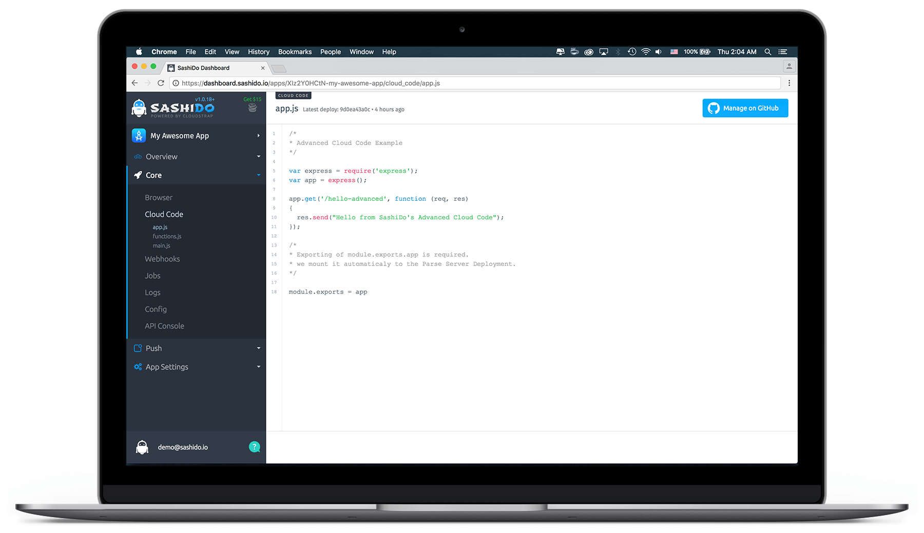 Cloud Code - Code Preview